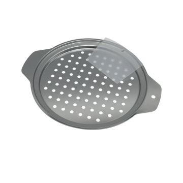 Stainless Steel Spaetzle Maker Lid with Scraper