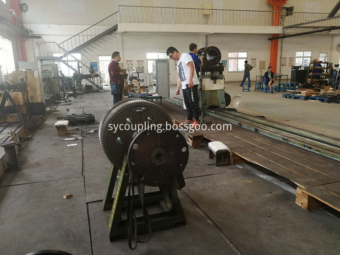 Hydraulic Coupling and Booster Pump