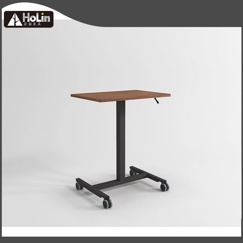 Square laptop cart table