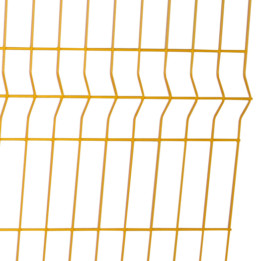 3d galvanized welded boundary wall wire mesh fence