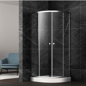 Aluminium Alloy Frame Arc Shape Shower Room