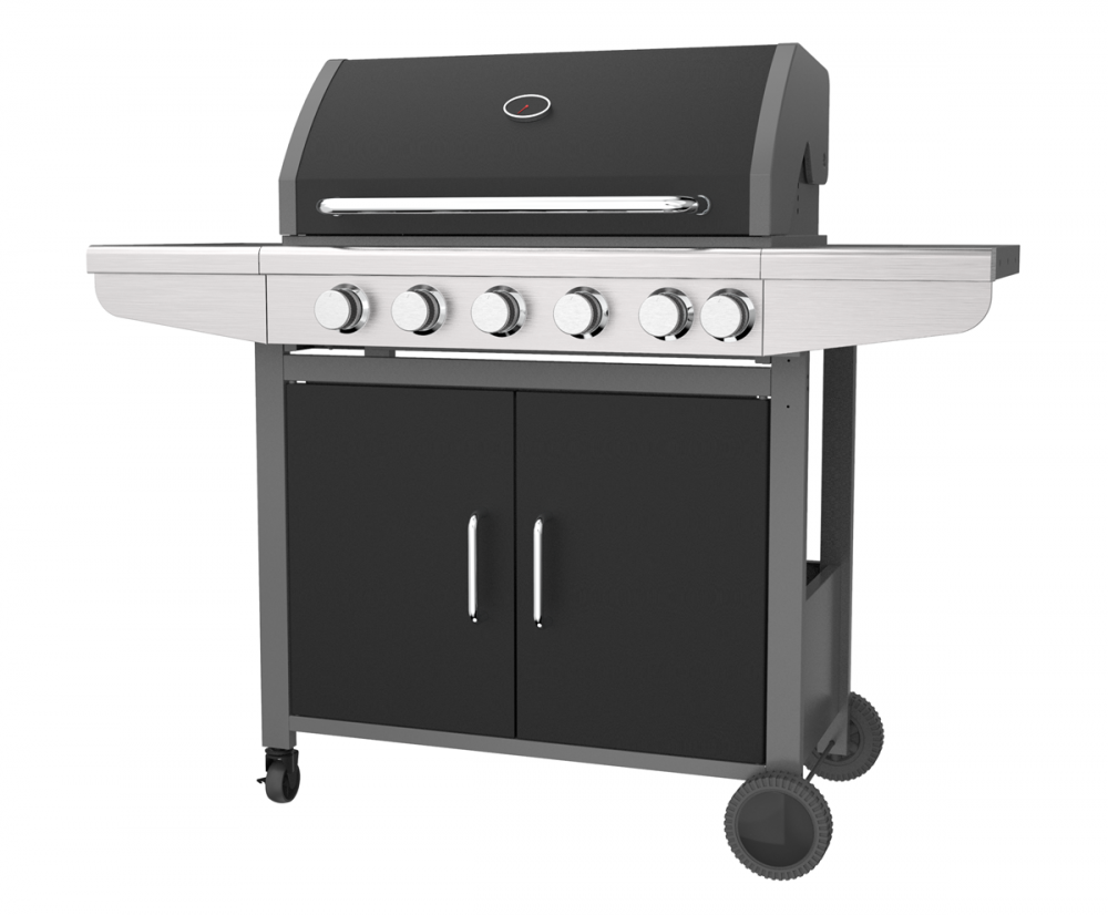 5&1 Burner Gas Barbecue Grill