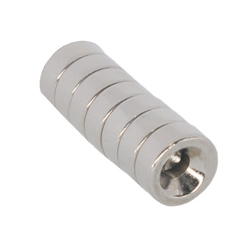 Neodymium Magnet with Countersunk Holes