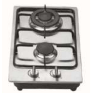 2 Burners Stainless Steel Gas Stove