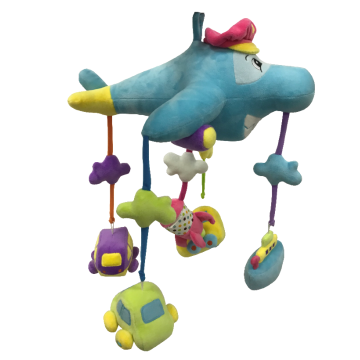 Plush Airplane Hanging Decoration