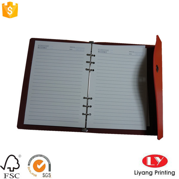 Special office school notebook printing with pocket