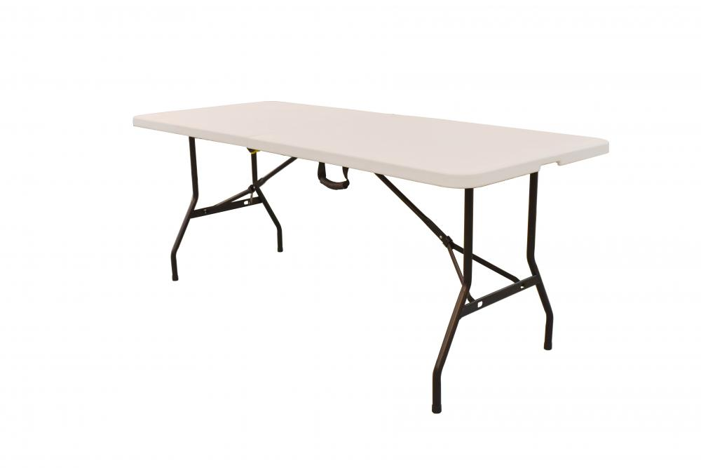 6FT Fold in Half  Folding Plastic Table
