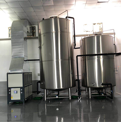 brewery cooling plant