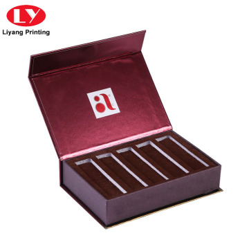 Custom Cosmetic Paper Makeup Magnetic Lid Box