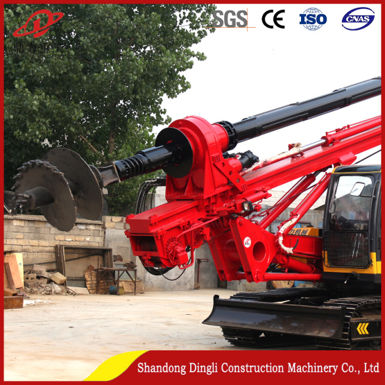 Hot-selling crawler rotary drilling rig exported to Africa