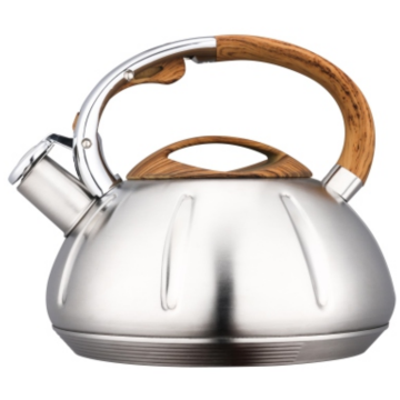 3.5L wooden nylon+zinc alloy handles teakettle