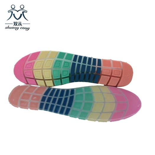Factory Supply Moccasins Ladies Shoe Sole Rubber Sole