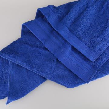 100% cotton towel for hotel with satin edge