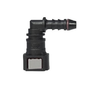 Fuel Quick Connector 6.30 (1/4) - ID6 - 90° SAE
