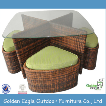 High Top Leisure Patio Outdoor Wicker Furniture