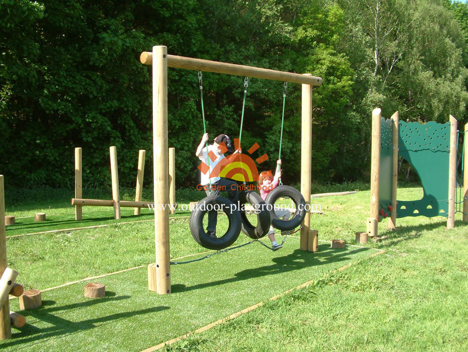 Tyre Walk Balancing Outdoor Playground For Kids