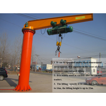 3t foot fixed jib crane for sale