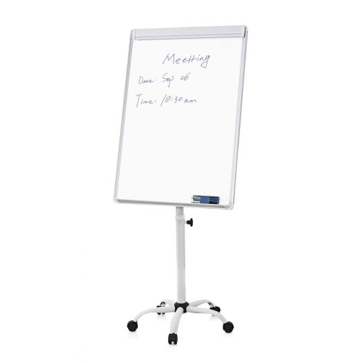 70x100cm Office Magnetic Mobile Flip Chart Easel
