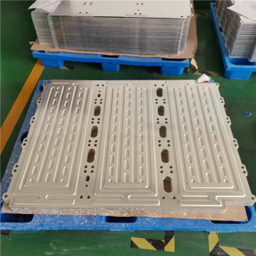 aluminum water cooling plate design for solar panel