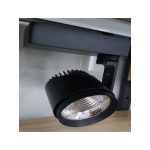 Track Head Black LED Track Light