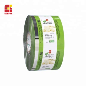 Laminated Rollstock Plastic Film For Seeds
