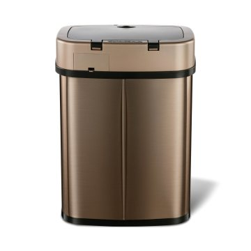 12L Household Stainless Steel Electronic Sensor Dustbin