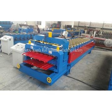 Double Layer Glazed Tile Roof Panel Forming Machine