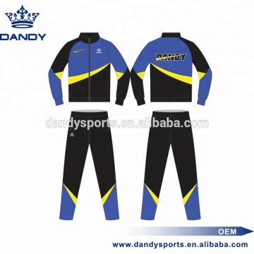 custom sublimated zipper training tracksuit