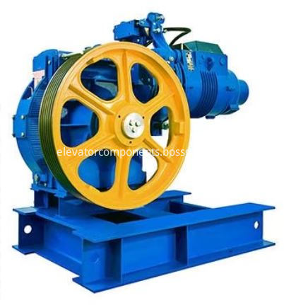 AC VVVF 18ATF Geared Traction Machine for OTIS Elevators