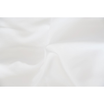 100% Polyester Anti Bacterial Treatment White Fabrics