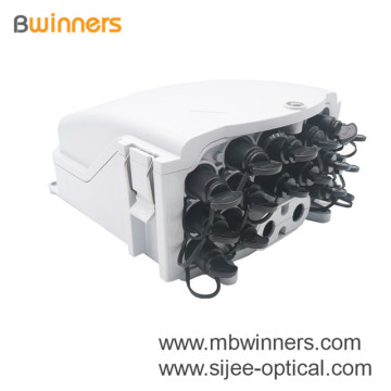 Caja Terminal Nap 16 Puertos Optical Fiber Drop Cable Distribution Box FTTH Caja Nap 16 Cables Drop Cable