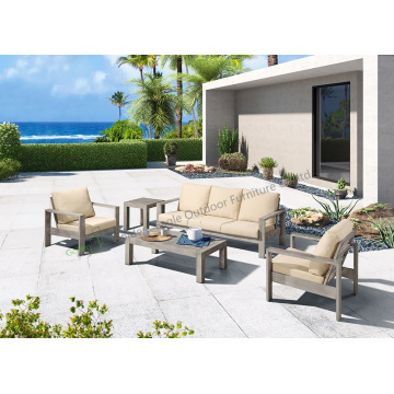 5pcs handbrush garden leisure sofa set