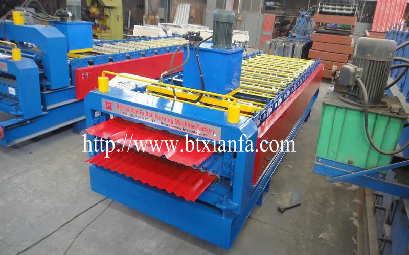 forming profile machine