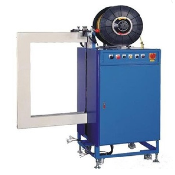 Side strapping pallet strapping machine