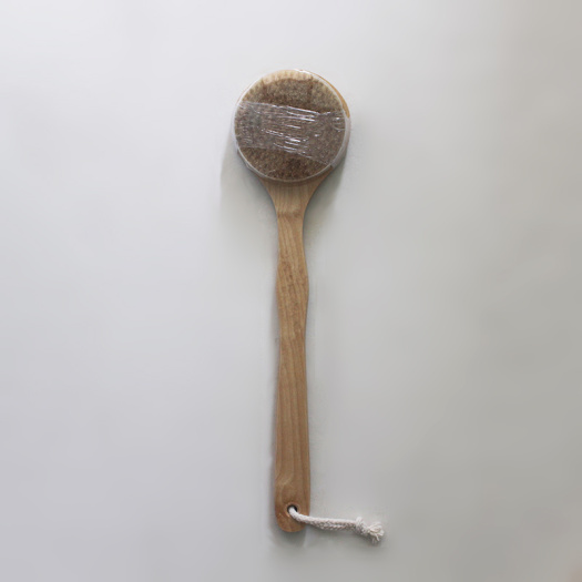 OEM Natural Bristle Long Handle Bath Body Brush