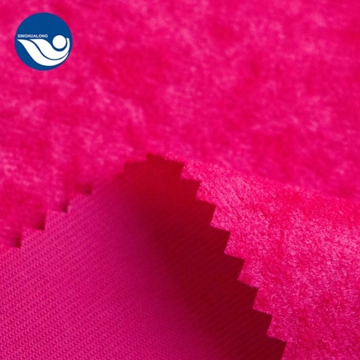 aloba and velvet fabric for home textile
