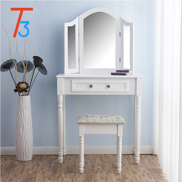 aunty mirror tool 4 drawers makeup dressing table