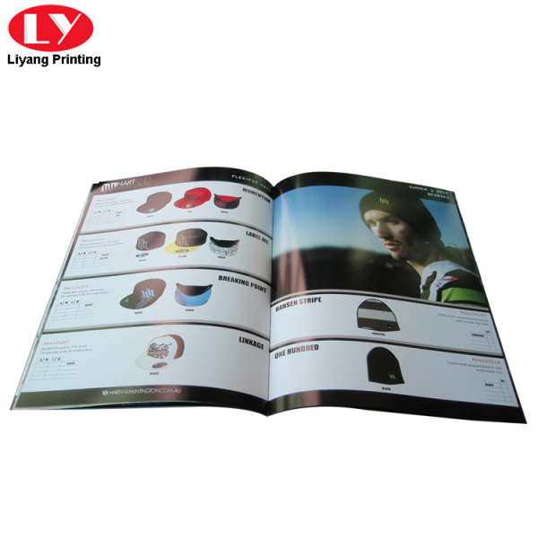 printed saddle stitching sunglasses catalogue