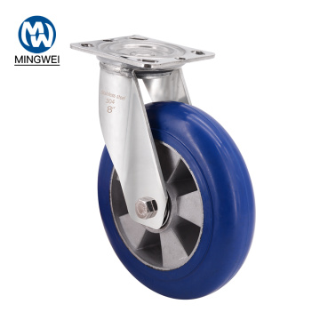Heavy Duty Swivel Rubber Industrial Casters