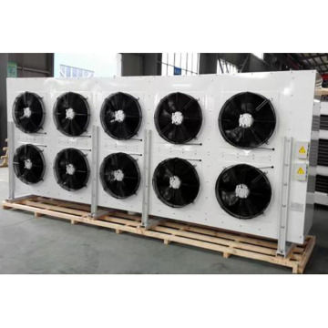 portable evaporative air cooler in ten fans