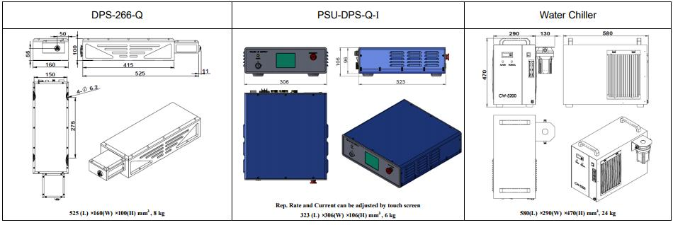 the features of DPS-266-Q