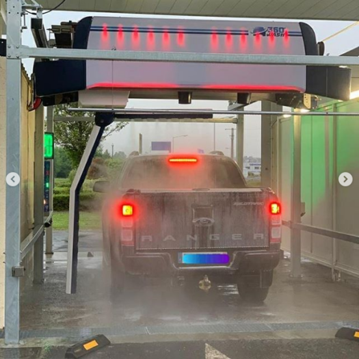 Automatic car wash touchless equipments