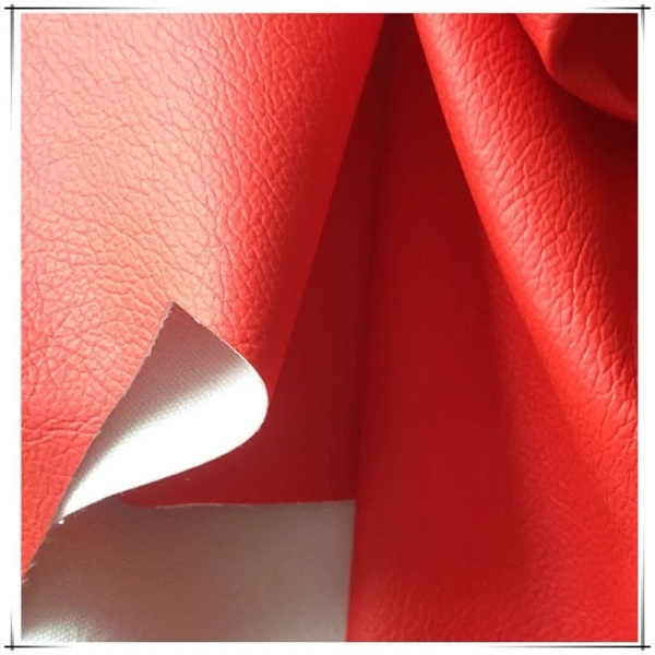 PU Faux Synthetic Leather for Upholstery Sofa
