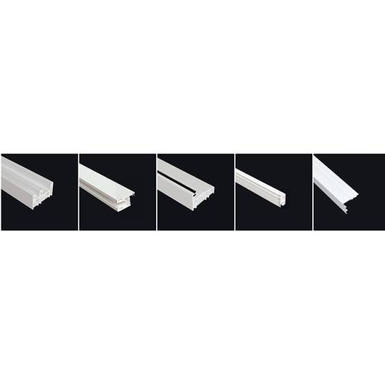 80mm Sldiing Series Pvc Extrusion Profiles