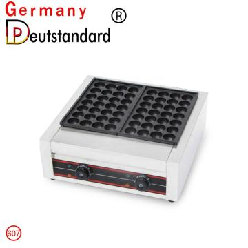 Double plates electric fish pellet grill takoyaki