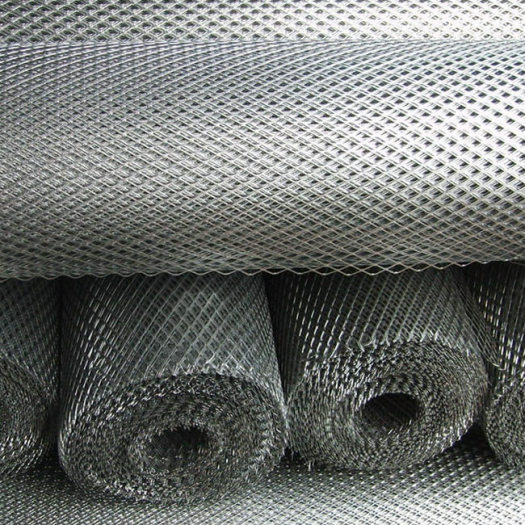 Aluminium Expanded metal mesh for road stairway