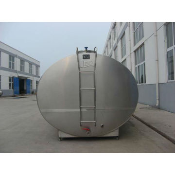 Fast cooling milk tanks