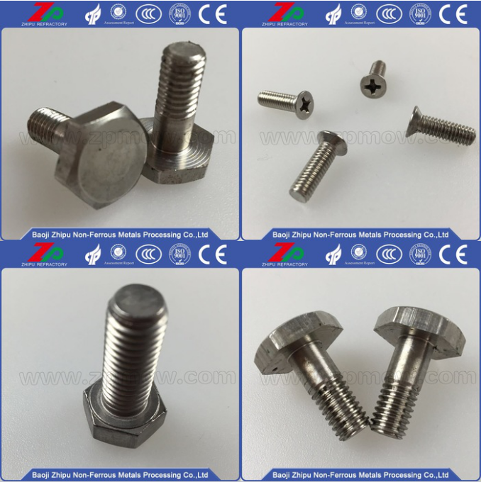 M6 round head molybdenum screw