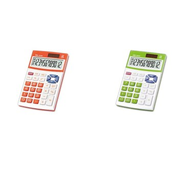 dual power supply handheld plastic calculator