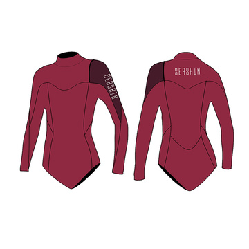 Seaskin Zipperless Bikini Spring Wetsuit For Lady